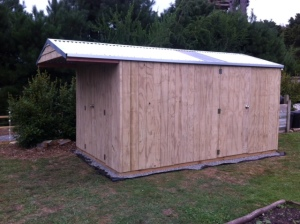 Garden Shed Central - with storage extention